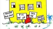 Cartoon on Flipping Houses