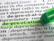 depreciation definition