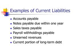 balance sheet and current liabilities Current liability this late payments from a previous fiscal year will carry over into the same position on the balance sheet as current liabilities which are not.