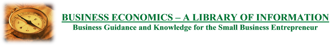Business Economics - A Library of Information