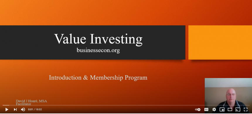Value Investing - Introduction